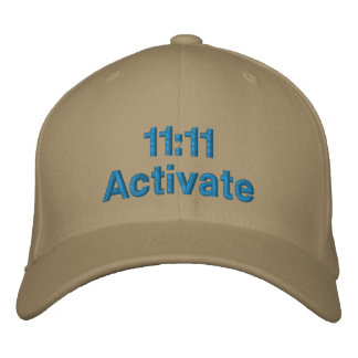 11 11 Activate Embroidered Hats