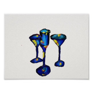 """11"""" x 8.5"""", Value Poster Paper, wine glass"""