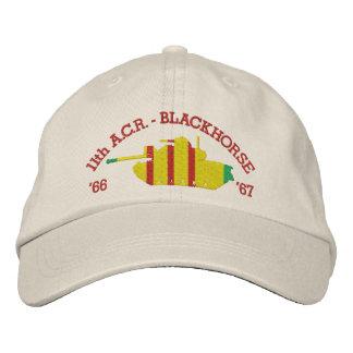11th A.C.R. Blackhorse M48 Patton Embroidered Hat