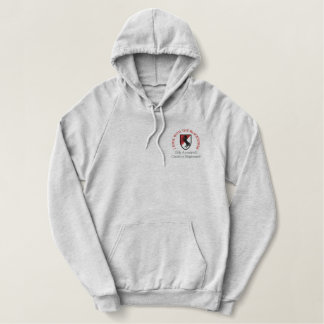 11th ACR M551 Blackhorse Patch Shirt. Embroidered Hooded Sweatshirt