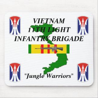 11th Light Inf Vietnam Mousepad 1/w