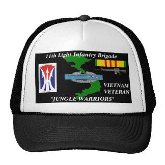 "11th Light Infantry Brigade""Jungle Warriors"" Caps Cap"