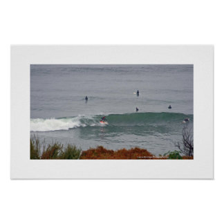 11th Street Surf Poster