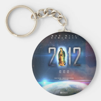 12.12.12 Celebrating Our Lady of Guadalupe Key Ring