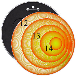 12 13 14 Colossal Orange Crush Button