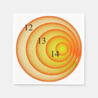 12/13/14 Orange Crush Napkin Paper Napkins