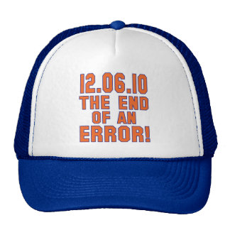 12.6.10 - End of an Error! - Coach M is FIRED! Mesh Hat