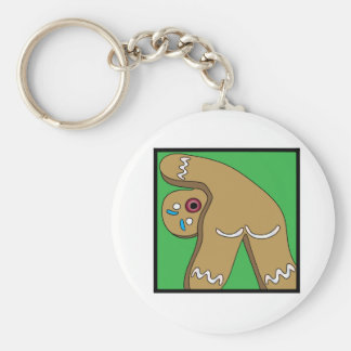 12 Farts of Christmas Gingerbread Key Ring