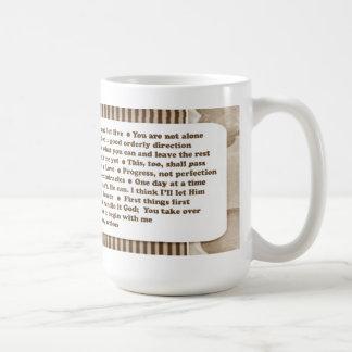 12 Step Slogans Mug