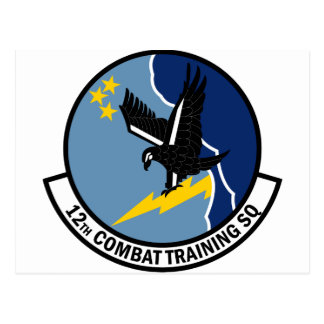 12th Combat Training Squadron Postcard