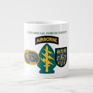 12TH SPECIAL FORCES GROUP JUMBO MUG