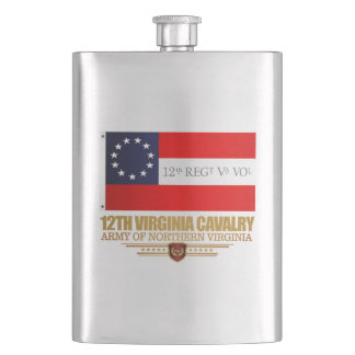 12th Virginia Cavalry (f10) Hip Flask