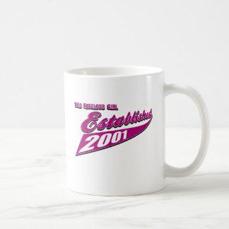 12th year birthday designs coffee mug