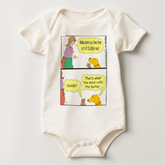 132 maid calls the butler cartoon baby bodysuit