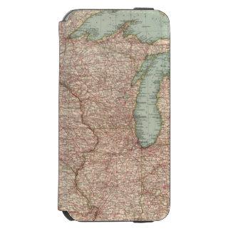 13435 Mich, Wis, Minn, Ia, Mo, Ill, Ind, Ky Incipio Watson™ iPhone 6 Wallet Case
