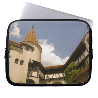 13th Century Bran Castle (Draculas' Castle), Laptop Sleeve