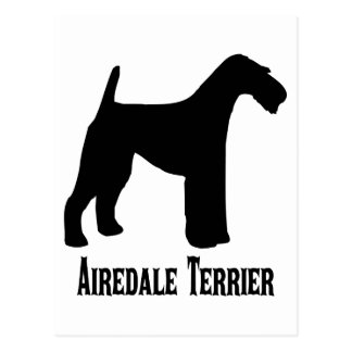 1415112006 Airedale Terrier (Animales) Postcard