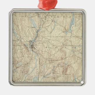 14 Putnam sheet Silver-Colored Square Decoration