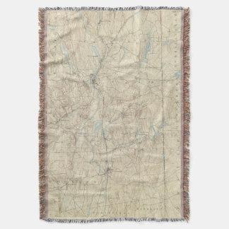 14 Putnam sheet Throw Blanket