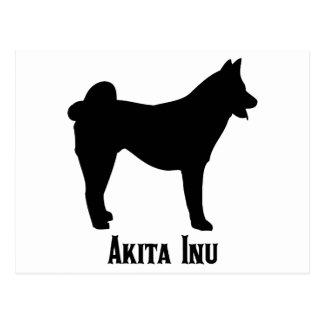 1515112006 Akita Inu (Animales) Postcard