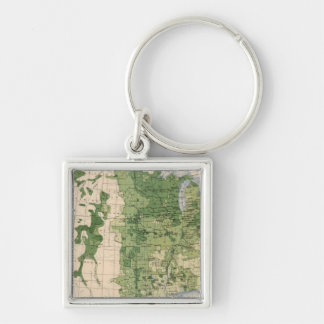 157 Wheat/acre Key Ring