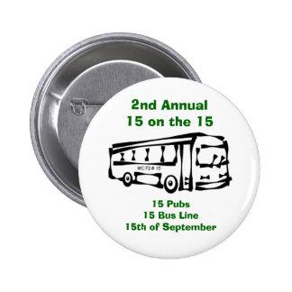 15 on the 15 6 cm round badge