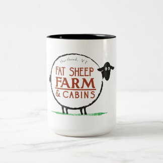 15 oz Fat Sheep Farm Coffee Mug
