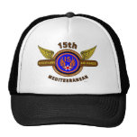 "15TH ARMY AIR FORCE ""ARMY AIR CORPS"" WW II HATS"