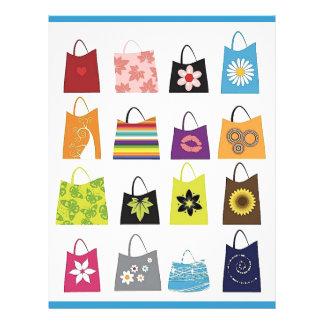 16 Free Vector Shopping Bags 21.5 Cm X 28 Cm Flyer