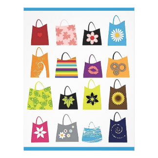 16 Free Vector Shopping Bags Flyer