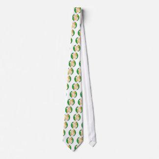 16 NIGERIA Gold Tie