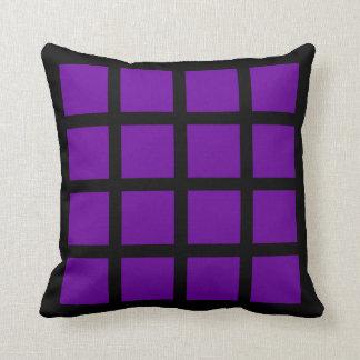 16 Square Photo Collage Throw Pillow