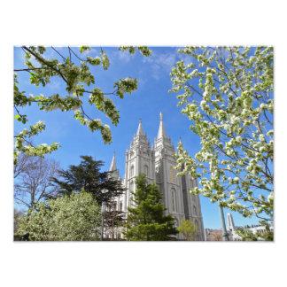 "16"" X 12"" Salt Lake City LDS Temple Photographic Print"