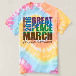 16GPMMRTDT Men's Tie-Dye Rainbow Shirt