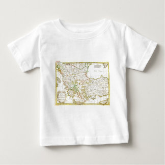 1771 Janvier Map of Greece Turkey Macedonia anda Baby T-Shirt