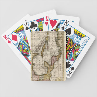1790 Map of The West Indies by Dilly and Robinson Bicycle Playing Cards