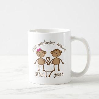 17th Wedding Anniversary Gifts Coffee Mug