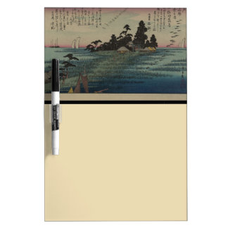 1800's Japanese Art Dry Erase Board