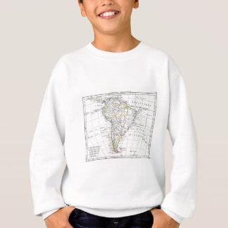 1806 Map - L'Amérique Méridionale Sweatshirt