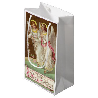 1875: A Victorian greetings card Small Gift Bag