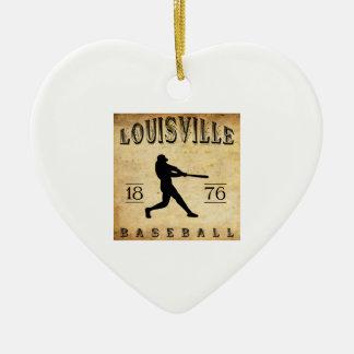 1876 Louisville Kentucky Baseball Christmas Ornament