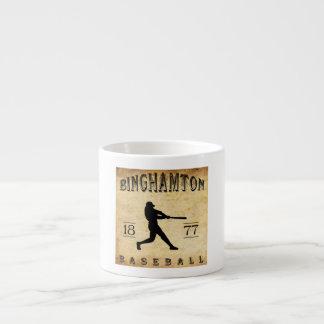 1877 Binghamton New York Baseball Espresso Cup
