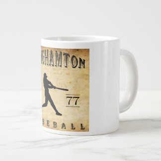 1877 Binghamton New York Baseball Large Coffee Mug