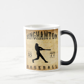 1877 Binghamton New York Baseball Magic Mug