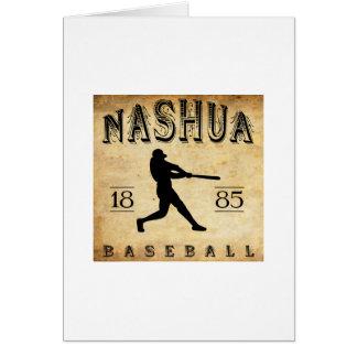 1885 Nashua New Hampshire Baseball Card