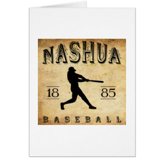 1885 Nashua New Hampshire Baseball Card