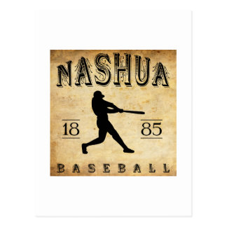 1885 Nashua New Hampshire Baseball Postcard