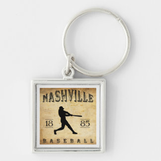 1885 Nashville Tennessee Baseball Key Ring