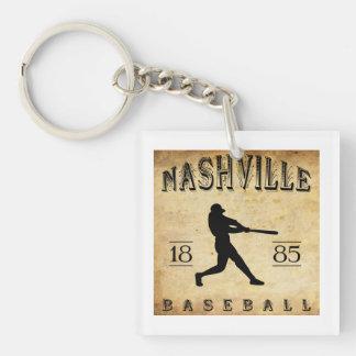 1885 Nashville Tennessee Baseball Key Ring