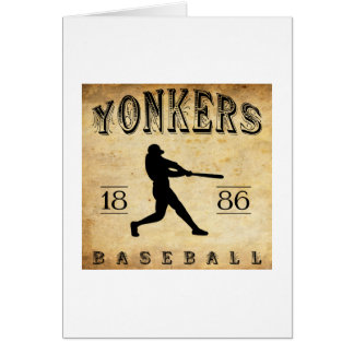 1886 Yonkers New York Baseball Card